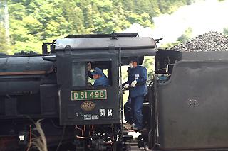 D51498 釜石発車