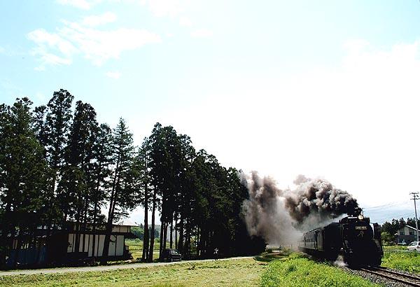 SL銀河ドリーム号 試運転 新花巻-小山田