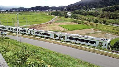 キハ110 はまゆり4号 遠野-綾織 風の丘