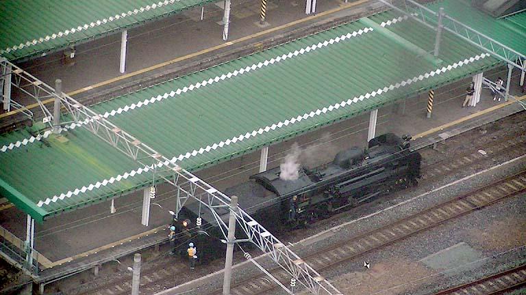 C58239 盛岡入換 マリオス展望台
