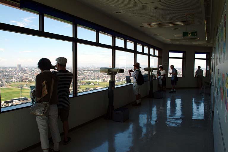 東埼玉資源環境組合 第一工場ごみ処理施設 展望台