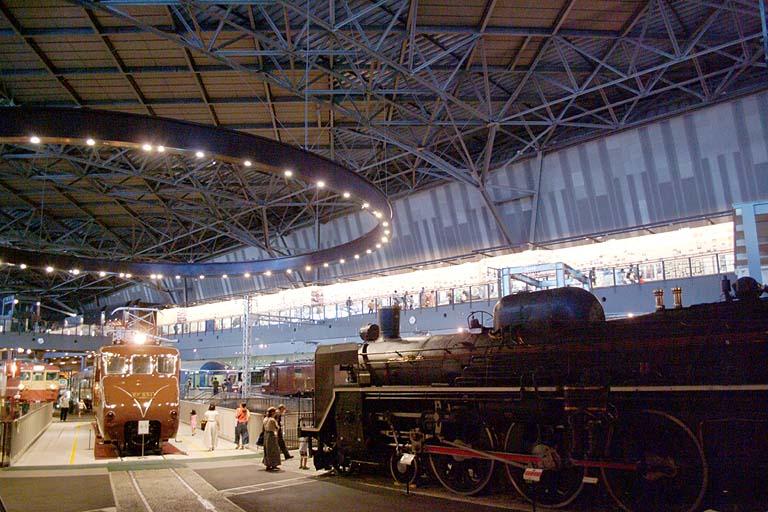 EF551 C57135 鉄道博物館