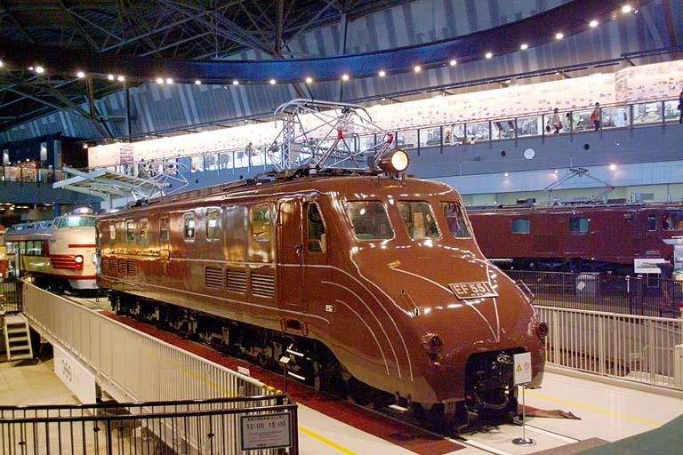 EF551 鉄道博物館