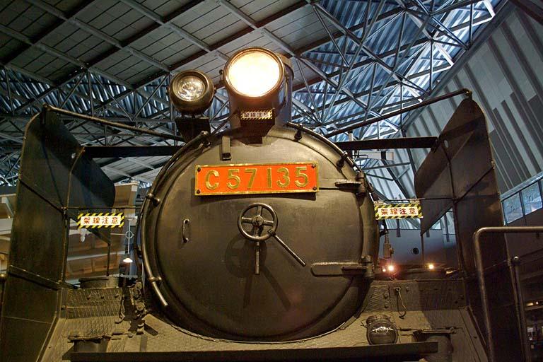 C57135 鉄道博物館