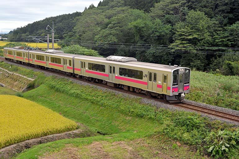 701系 648M 鶴ヶ坂-津軽新城