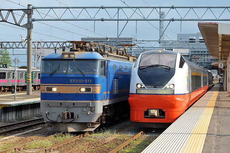 E751系 特急つがる3号 EF510-511 弘前