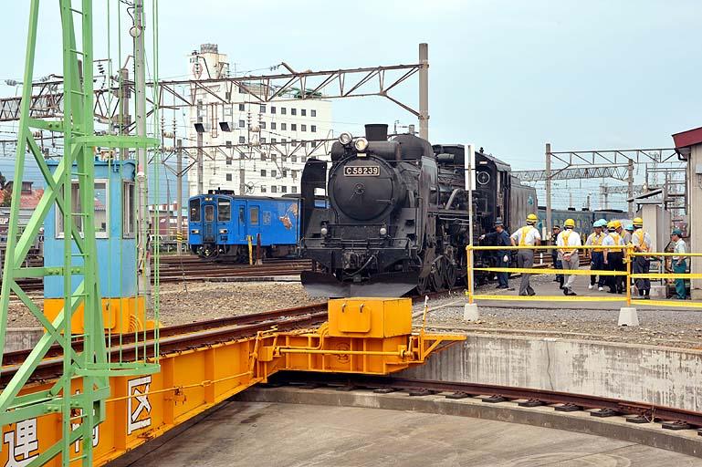 C58239 キハ141 SL銀河青函DC号 試運転 弘前運輸区